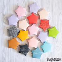Набор картонных заготовок 002, ТМ Fabrika Dekoru, 6 штук, 70 мм, выбор цвета