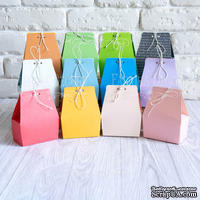 Набор картонных заготовок 004, ТМ Fabrika Dekoru, 6 штук, выбор цвета