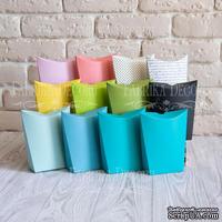 Набор картонных заготовок 007, ТМ Fabrika Dekoru, 6 штук, выбор цвета