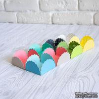 Набор картонных заготовок 010, ТМ Fabrika Dekoru, 6 штук, выбор цвета