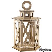 Декоративный фонарик 6-гранный-L 082, ТМ Фабрика Декора