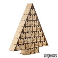 Заготовка ТМ Фабрика Декора - Адвент календарь на 31 день #095