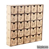 Заготовка ТМ Фабрика Декора - Адвент календарь на 25 дней #097