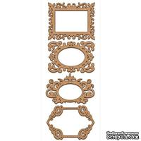 Набор декоративних элементов для шедоубокса №45, ТМ Фабрика Декора