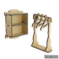 3D Заготовка фигурки для оформления шедоубокса №53, ТМ Фабрика Декора