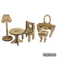 3D Заготовка фигурки для оформления шедоубокса №54, ТМ Фабрика Декора