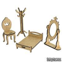 3D Заготовка фигурки для оформления шедоубокса №55, ТМ Фабрика Декора
