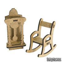 3D Заготовка фигурки для оформления шедоубокса №56, ТМ Фабрика Декора