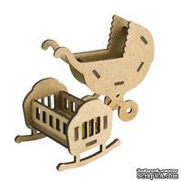 3D Заготовка фигурки для оформления шедоубокса №57, ТМ Фабрика Декора