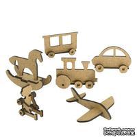 3D Заготовка фигурки для оформления шедоубокса №59, ТМ Фабрика Декора