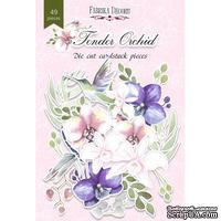 Набор высечек, коллекция Tender Orchid, 49 шт., ТМ Фабрика Декора
