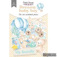 Набор высечек коллекция Dreamy baby boy 55 шт, ТМ Фабрика Декора