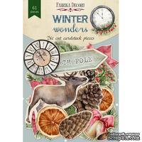 Набор высечек коллекция Winter wonders 61 шт, ТМ Фабрика Декора