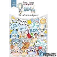 Набор высечек коллекция Cutie sparrow boy 56 шт, ТМ Фабрика Декора - ScrapUA.com