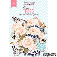 Набор высечек, коллекция Cream Rose, 57 шт., ТМ Фабрика Декора