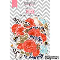 Набор высечек, коллекция Red Rose, 57 шт., ТМ Фабрика Декора