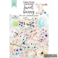Набор высечек коллекция Sweet bunny 54 шт, ТМ Фабрика Декора - ScrapUA.com