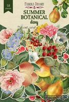 Набор высечек коллекция Summer botanical diary 58 шт, ТМ Фабрика Декора - ScrapUA.com