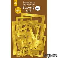 Набор рамок с фольгированием №2 Gold, 50 шт, ТМ Фабрика Декору