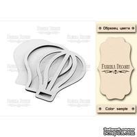 Заготовка для шейкера Воздушный шар, цвет молочный, ТМ Фабрика Декора