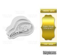 Заготовка для шейкера Lightbulb, цвет золото, ТМ Фабрика Декора
