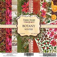 Набор бумаги 30,5х30,5 Botany winter, ТМ Фабрика Декору