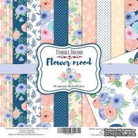 Набор скрапбумаги Flower mood, 30,5x30,5см, Фабрика Декора