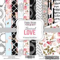 Набор скрапбумаги Sensual Love, 30,5x30,5см, Фабрика Декора