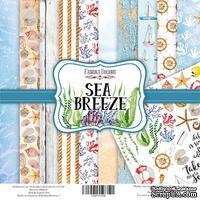 Набор скрапбумаги Sea Breeze, 30,5x30,5см, Фабрика Декора
