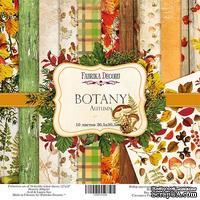 Набор скрапбумаги Botany autumn, 30,5x30,5см, Фабрика Декора