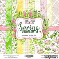 Набор скрапбумаги - Spring blossom, 30,5x30,5 см, ТМ Фабрика Декора