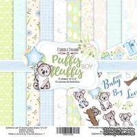 Набор скрапбумаги - Puffy Fluffy Boy, 30,5x30,5 см, ТМ Фабрика Декора