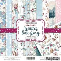Набор скрапбумаги Winter Love Story, 30,5x30,5 см, TM Fabrika Decoru