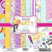 Набор скрапбумаги Party Girl, 30,5x30,5см, Фабрика Декору