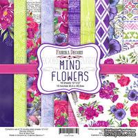 Набор скрапбумаги Mind Flowers 30,5x30,5см, ТМ Фабрика Декору