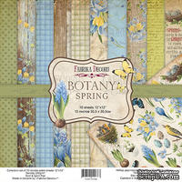 Набор скрапбумаги Botany spring 30,5x30,5см, ТМ Фабрика Декору