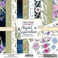 Набор скрапбумаги Night garden 30,5x30,5см, TM Fabrika Decoru