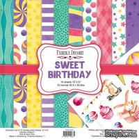 Набор скрапбумаги Sweet Birthday 30,5x30,5см, TM Fabrika Decoru