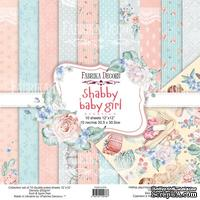 Набор скрапбумаги Shabby baby girl redesign 30,5x30,5см, ТМ Фабрика Декора