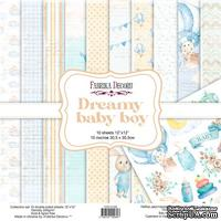 Набор скрапбумаги Dreamy baby boy 30,5x30,5 см, ТМ Фабрика Декора