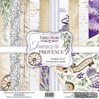 Набор скрапбумаги Journey to Provence, ТМ Фабрика Декора