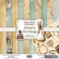 Набор скрапбумаги Family Heritage 30,5x30,5 см, ТМ Фабрика Декора