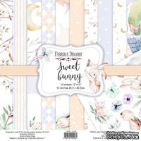Набор скрапбумаги Sweet bunny 30,5x30,5 см 10 листов, ТМ Фабрика Декора