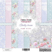Набор скрапбумаги Фабрика Декора - Shabby dreams, 20х20, 10 листов