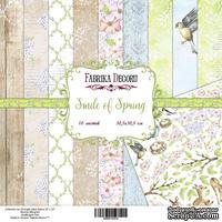 Набор скрапбумаги Фабрика Декора - Smile of Spring, 20х20, 10 листов