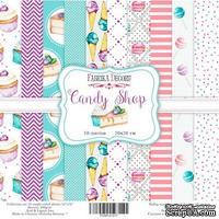 Набор бумаги 20х20 Candy shop, ТМ Фабрика Декору
