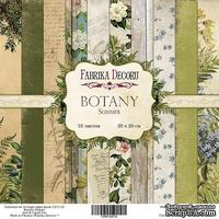 Набор бумаги 20х20 Botany summer, ТМ Фабрика Декору
