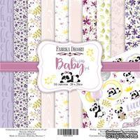 Набор бумаги 20Х20 My little baby girl, ТМ Фабрика Декору