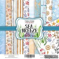 Набор скрапбумаги Sea Breeze, 20x20см, Фабрика Декора