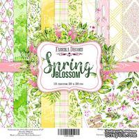 Набор скрапбумаги - Spring blossom, 20x20 см, ТМ Фабрика Декора